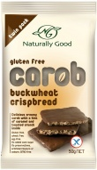 Naturally Good Buckwheat Carob Crispbead 50g x 12