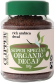 Clipper Med Roast Decaf Arabica Coffee 100g