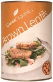 Ceres Organics Lentils Brown 425g (Can)
