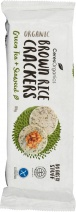Ceres Organics Bio Brown Rice Crackers Green Tea & Seaweed  115g