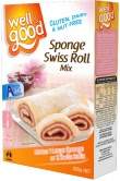 Well And Good Sponge Swiss Roll Mix 400g