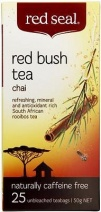 Red Seal Red Bush Tea Chai (Rooibos) 25 Teabags