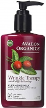 Avalon Organics Wrinkle Therapy wtih CoQ10 & Rosehip Cleansing Milk 250ml