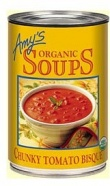 Amys Organic Chunky Tomato Bisque 411gm