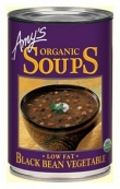 Amys Organic Can Black Bean Vege Soup 411g
