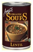 Amys Organic Canned Lentil  Soup 411gm
