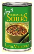 Amys Organic Can Lentil & Vegetable Soup 400g