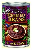 Amys Organic Refried Beans Black 437gm