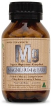 Healthy Essentials Organic Magnesium & Cramp Bark 50caps