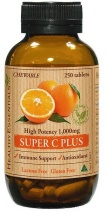Healthy Essentials Super Vitamin C Plus Chewable 250tabs