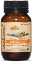Healthy Essentials Inflacure Turmeric & Krill Oil 60 Caps