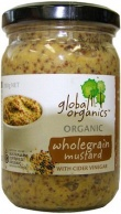 Global Organics Wholegrain Mustard 200g