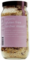 Real Good Foods Organic GF Bircher Muesli Jar 500g
