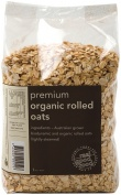 Real Good Foods Premium Organic Rolled Oats 1kg
