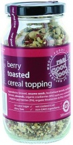 Real Good Foods Toasted Cereal Topping with Berries 320g