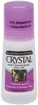 Crystal Deodorant Body Roll On 66ml