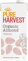 Pure Harvest Organic Almond Milk 1ltr