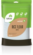 Lotus Organic White Rice Flour 500g