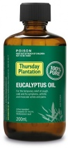Thursday Plantation Eucalyptus Oil 100% 200ml