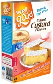 Well and Good Instant Custard Mix 250g