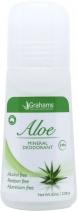 Grahams Aloe Mineral Deodorant Roll On 65ml
