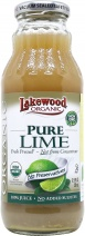 Lakewood Organic Lime Juice 370ml