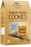 Naturally Good Munchy Muesli Cookie Vanilla 160g