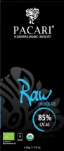 Pacari Biodynamic Raw Choc 85% Cacao Bars 50g