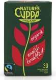 Natures Cuppa Organic English Breakfast 25 Teabags