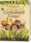 TheGingerPeople Organic Crystalised Ginger  112gm