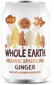 Whole Earth Drink Lightly Sparkling Ginger Organic 330mL