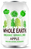 Whole Earth Drink Lightly Sparkling Apple Organic 330ml