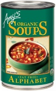 Amys Organic Can Alphabet Soup 400g
