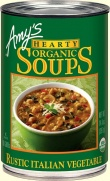 Amys Organic Can Hearty Italian Vegetable Soup 400g