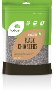 Lotus Chia Seeds Black Organic Bag  500g