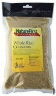 Natures First Organic Cous Cous Whole Rice 500g