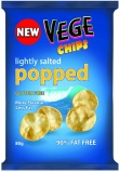 Vege Chips Popped Lightly Salted  5x80g
