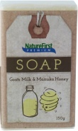 Natures First Premium Soap Goats Milk & Manuka Honey 150g