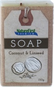 Natures First Premium Soap Coconut & Linseed 150g