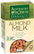 Australia's Own Almond Milk Portion Pck  3x250ml