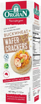 Orgran Multigrain Wafer Crackers w/Buckwheat  100g