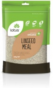 Lotus Linseed (Flaxseed) Meal Organic  450g