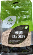 Lotus Rice Crisp Brown  300g