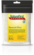 Natures First Organic White Basmati Rice 450g