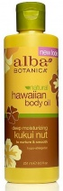 Alba Hawaiian Kukui Nut Organic Body Oil 250ml