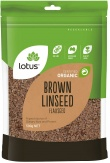 Lotus Organic Brown Linseed ( Flaxseed ) 500g