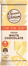 Sweet William White Chocolate 100g