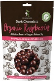Dr Superfoods Organic Dark Chocolate Raspberries 125g