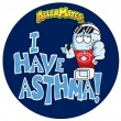 AllerMates I Have Asthma Stickers - 24 Pack