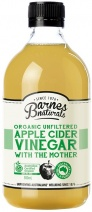 Barnes Naturals Organic Apple Cider Vinegar & The Mother Glass 500ml